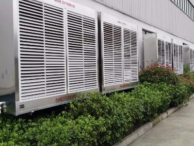 机械五金行业通风降温方案