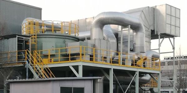 废气浓缩沸石转轮焚烧系统