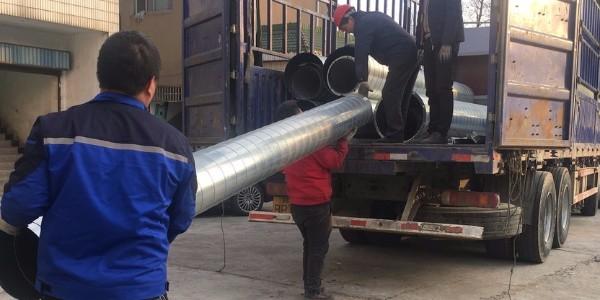废气处理管道