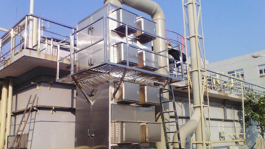 硅橡胶废气处理设备定制案例