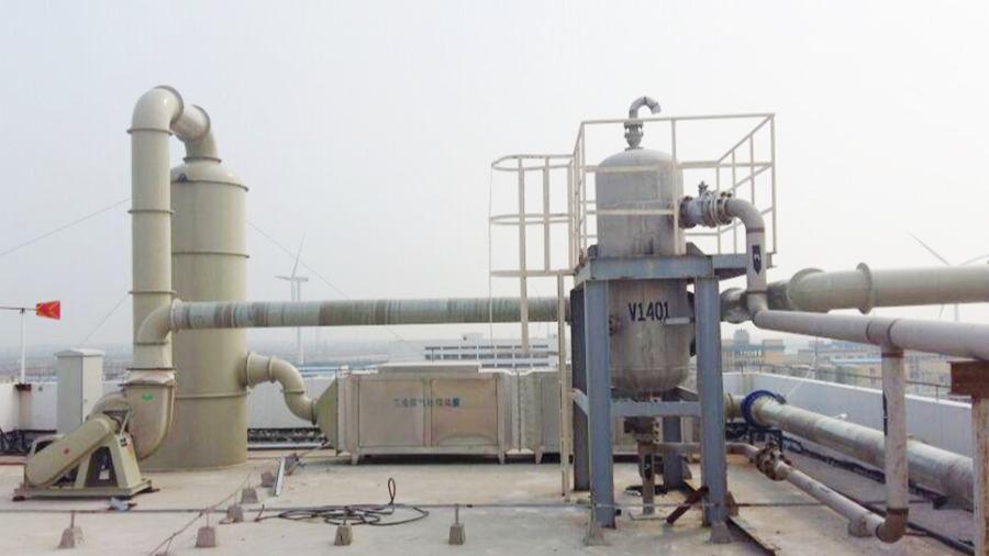 贝卡尔特集团酸雾废气设备定制案例