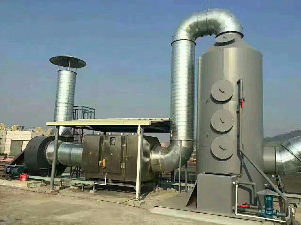 碳钢喷塑喷淋塔
